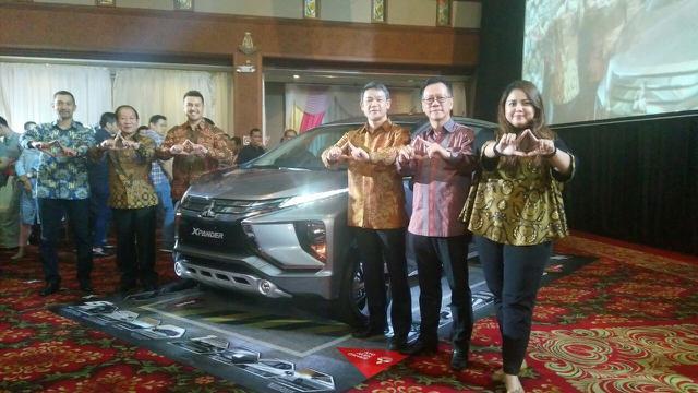 Hasil gambar untuk Mitsubishi Xpander Rilis Di Medan