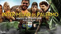Inter Milan Vs Palermo (Bola.com/Adreanus Titus)