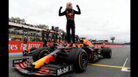 Pembalap Red Bull Racing Honda memenangkan seri F1 GP Prancis.