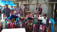 TNI Akhiri Konflik Batas wilayah RI-Timor Leste. (Liputan6.com/Ola Keda)