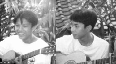 Pemilik nama asli Mohamad Kautsar ini menceritakan awal mula bergabungnya ia di band Noah (yang dulunya bernama Peterpan) sampai persahabatannya dengan Ariel yang terjalin sejak 24 tahun lalu. (Liputan6.com/IG/@uki_kautsar)