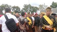 Jokowi Hadiri Festival Budaya di Pekanbaru (FOTO: Liputan6.com/Titin Supriatin)