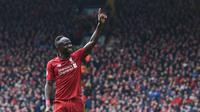 5. Sadio Mane (Liverpool) - 16 gol dan 1 assist (AFP/Paul Ellis)