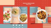 Ilustrasi brosur makanan (sumber: Freepik)