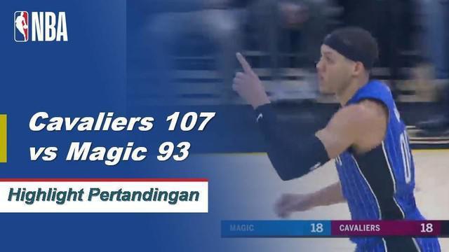 Kevin Love mencetak 16 angka saat Cavaliers menang atas Magic 107-93
