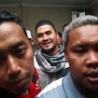 Selain itu, ia meminta untuk di doakan yang terbaik baik baginya. (Deki Prayoga/Bintang.com)