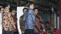 Prabowo Subianto dan Agus Harimurti Yudhoyono atau AHY. (Liputan6.com/Herman Zakharia)