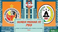 Shopee Liga 1 - Semen Padang FC Vs PS Sleman (Bola.com/Adreanus Titus)