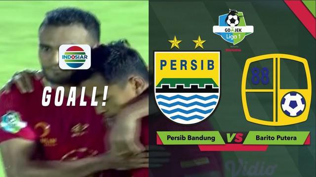 Berita video highlights Liga 1 2018. Persib Bandung ditahan Barito Putera 3-3, Sabtu (8/12/2018).