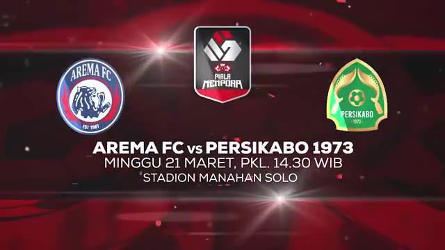 Berita video jelang opening ceremony dan laga pembuka antara Arema FC Vs Tira Persikabo, Minggu (21/3/21) mulai pukul 14:30 WIB.