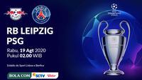 Liga Champions - RB Leipzig Vs Paris Saint-Germain (Bola.com/Adreanus Titus)