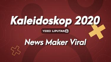 Berikut adalah jajaran news maker Indonesia yang viral dan menjadi sorotan media sepanjang tahun 2020.