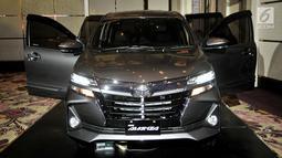 Tampilan New Toyota Avanza saat diluncurkan di Jakarta, Selasa (15/1). Pada bagian belakang juga tampak lebih lebar berkat desain anyar lampu. (Merdeka.com/Iqbal S. Nugroho)