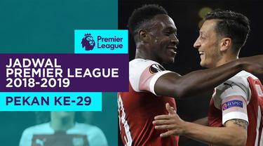 Berita video jadwal Premier League 2018-2019 pekan ke-29. Derbi London Utara antara Tottenham Hotspur vs Arsenal, Sabtu (2/3/2019) di Stadion Wembley, London.