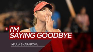 Berita Video Petenis Cantik Maria Sharapova Putuskan Pensiun
