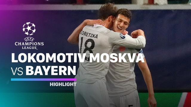 Berita video highlights Liga Champions, Bayern Munchen menang 2-1 atas Lokomotiv Moscow
