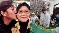 Ibunda Meninggal, Ini 6 Momen Vino G Bastian Tahan Tangis di Rumah Duka (sumber: Instagram.com/vinogbastian_ dan KapanLagi.com)