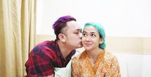 Gilang Dirga dan Adiezty Ferza program bayi tabung (Instagram/adieztyfersa)
