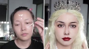 Viral, TikTokers Ini Bikin Make Up Karakter Mirip Selebriti Dunia