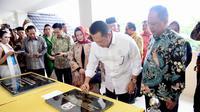 Ketua DPR RI Bambang Soesatyo bersama Menteri Riset, Teknologi, dan Pendidikan Tinggi (Menristekdikti) Prof. Mohamad Nasir meresmikan Universitas Perwira Purbalingga (UNPERBA).