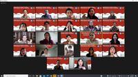 Peserta program Bahasa Indonesia bagi Penutur Asing (BIPA) di Universits Hankuk. Dok: Kemlu
