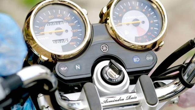 Yamaha RX King Edisi Spesial 20 Tahun Dijual Rp 100 Juta (Foto: Armindra Rais)