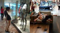 6 Kelakuan Kocak Orang saat di Mall Ini Bikin Geleng Kepala (sumber: 1cak dan Brightside)