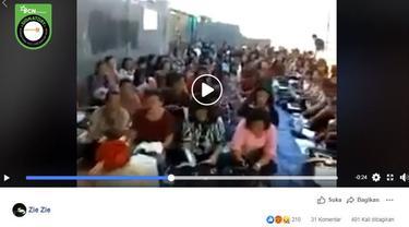 Gambar Tangkapan Layar Video Ibadah Gereja