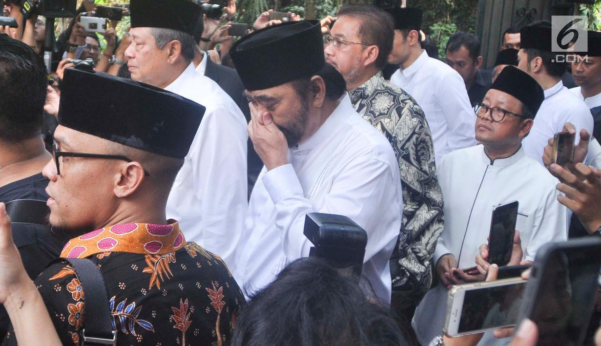 Foto Ani Yudhoyono Wafat Tokoh Tanah Air Melayat Ke Rumah Sby News Liputan6 Com
