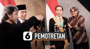 Pelantikan presiden dan wakil presiden berlangsung 20 Oktober 2019. Salah satu persiapan Jokowi dan KH Ma'ruf Amin adalah sesi foto pimpinan negara.