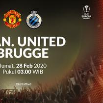 Liga Europa - Manchester United Vs Club Brugge