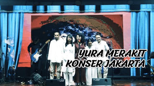 Yura Yunita akan menggelar Merakit konser di Jakarta 25 April 2019. Yura mengajak teman tuna netra untuk menjadi bagian dalam pagelaran tunggalnya.