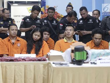 Bea Cukai, PT Pos Indonesia, dan Polda Metro Jaya Ungkap Penyelundupan Narkoba