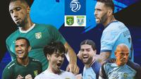 BRI Liga 1 - Duel Antarlini - Persebaya Surabaya Vs Persela Lamongan (Bola.com/Adreanus TItus)