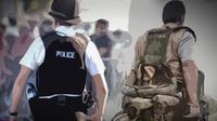 Ilustrasi Polisi dan Militer