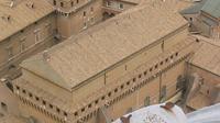Lukisan Michelangelo menghiasi langit-langit Kapel Sistina (Wikipedia/GNU General Public License)