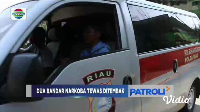 Dua Bandar Narkoba di Pekanbaru tewas setelah terkena peluru petugas dalam aksi baku tembak.