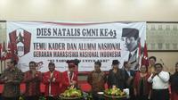 GMNI menggelar perayaan Dies Natalis ke-63 Tahun. (Taufiqurrahman/Liputan6.com)
