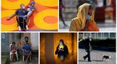 Foto kombinasi yang dibuat pada 20 Oktober 2020 menunjukkan pandemi COVID-19 di sejumlah negara. Berdasarkan data Worldometers pada 19 Oktober 2020, total kasus COVID-19 dunia sudah mencapai 40.278.207. (AP Photo/Wilfredo Lee, Channi Anand, Bruna Prado, Alexander Zemlianichenko, Natacha Pisarenko)