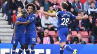 Chelsea meraih kemenangan di markas Southampton. (AFP/Glyn Kirk)