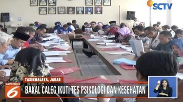 Menjelang batas akhir pendaftaran bakal calon anggota legislatif untuk pemilu 2019, ratusan bakal caleg  mengikuti serangkaian tes yang ditentukan oleh KPU.