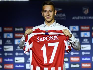 Atletico Madrid Resmi Perkenalkan Striker Baru Asal Serbia