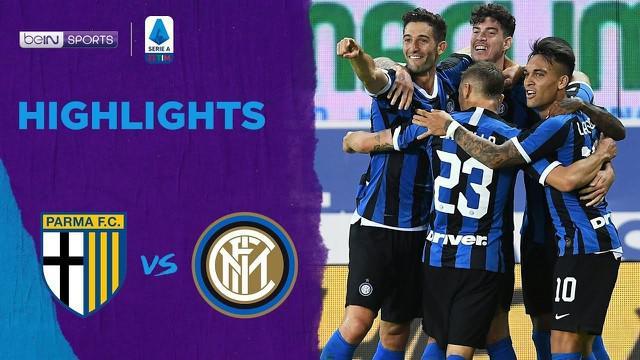 Berita Video Highlights Serie A, Inter Milan Menang Tipis Atas Parma 2-1