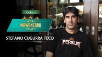 Wawancara pelatih Persija Jakarta Stefano Cugurra Teco. (Bola.com/Dody Iryawan)