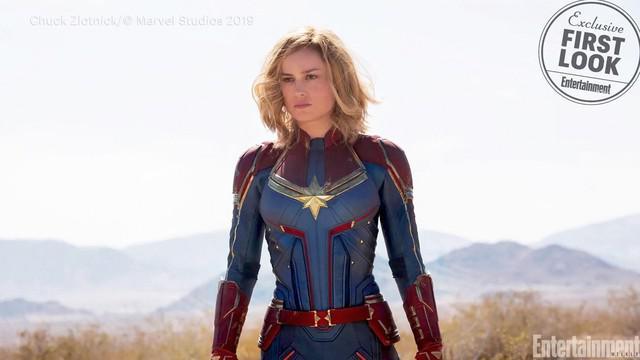 Film Captain Marvel ditunggu-tunggu para pecinta Marvel. Kini beredar bocoran foto proses shooting Captain Marvel.