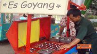 Es Goyang asal Bandung yang biasa dijual di Jakarta. Foto: Apatisman