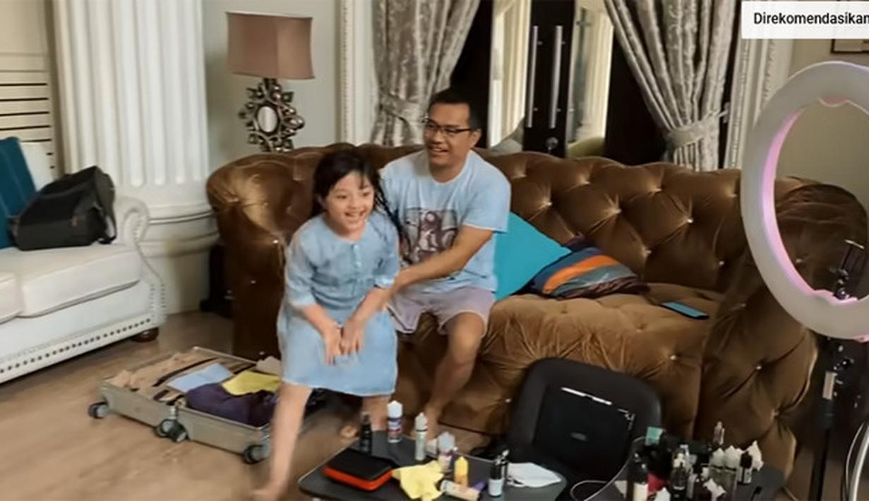 Arsy anak Anang Hermansyah dan Ashanty (Youtube/The Hermansyah A6)