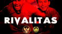 Rivalitas - Timnas Indonesia Vs Malaysia (Bola.com/Adreanus Titus)