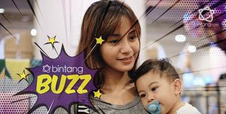 Bukti ibu tangguh,Ini Kebahagiaan Kirana Larasati mengasuh anaknya