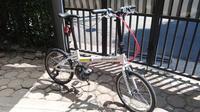 Sepeda lipat Downtube Nova (Andri Permana)